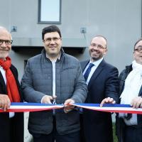 Inauguration le Clos des Glycines à Bessancourt